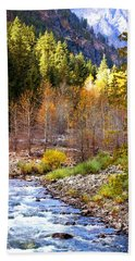 Wenatchee River - Leavenworth - Washington Hand Towel