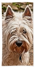 West Highland White Terrier Hand Towel