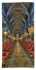 West Point Cadet Chapel Hand Towel by Dan McManus