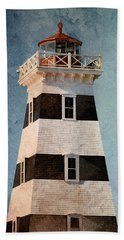West Point Lighthouse 7 Bath Towel by WB Johnston