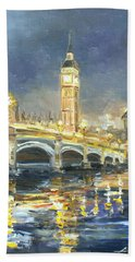 Westminster Bridge Hand Towel