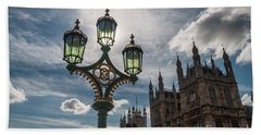 Bath Towel featuring the photograph Westminster by Matt Malloy