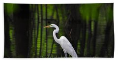 Wetland Wader Bath Towel by Al Powell Photography USA