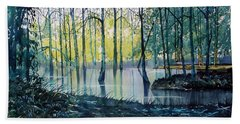 Wetlands On Skipwith Common Hand Towel