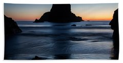 Whaleshead Beach Sunset Hand Towel