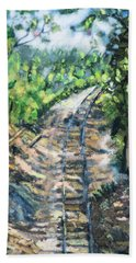 What's Around The Bend? Hand Towel