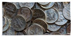When Dimes Were Made Of Silver Hand Towel by Heidi Smith