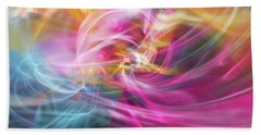 Hand Towel featuring the digital art When Prayers Enter The Throne Room by Margie Chapman