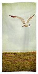 Where To Go? Hand Towel by Trish Mistric