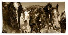 Whimsical Stallions Bath Towel