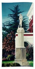 White County Courthouse - Civil War Memorial Bath Towel