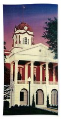 White County Courthouse Bath Towel