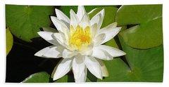White Lotus 1 Hand Towel
