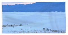 White Sands New Mexico Bath Towel
