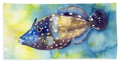 Whitespot Filefish Hand Towel