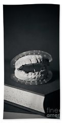 Hand Towel featuring the photograph Whose Teeth Are These? by Trish Mistric