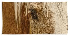 Hand Towel featuring the photograph Wickenburg's Palomino Gold by Amanda Smith