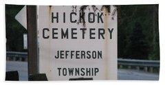 Hand Towel featuring the photograph Wild Bill Hickok by Michael Krek