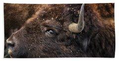 Wild Eye - Bison - Yellowstone Hand Towel