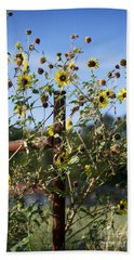 Hand Towel featuring the photograph Wild Growth by Erika Weber