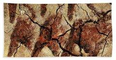 Wild Horses - Cave Art Hand Towel
