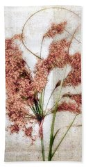 Bath Towel featuring the photograph Wild Indian Rice In Autumn #2 by Louise Kumpf