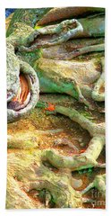 Wild Roots By Christopher Shellhammer Bath Towel