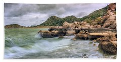 Wild Weather On Lake Altus - Oklahoma - Quartz Mountains Bath Towel