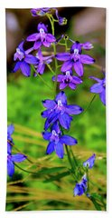 Wildflower Larkspur Hand Towel