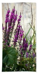 Wildflowers In Newport Vermont Bath Towel by Donna Walsh