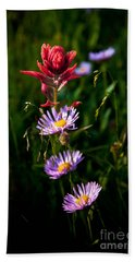 Bath Towel featuring the photograph Wildflowers by Steven Reed