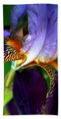 Hand Towel featuring the photograph Wildly Colorful by Deborah  Crew-Johnson