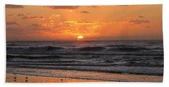 Wildwood Beach Here Comes The Sun Hand Towel