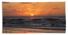 Wildwood Beach Here Comes The Sun Hand Towel