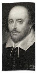 William Shakespeare Bath Towel