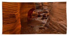 Willis Creek Slot Canyon Bath Towel by Robert Bales