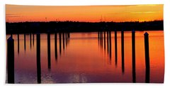 Winchester Bay Sunset Bath Towel