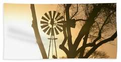 Bath Towel featuring the photograph Spinning In The Sundown by Clarice  Lakota