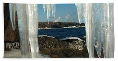 Hand Towel featuring the photograph Window Into Minnesota by James Peterson