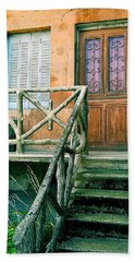 Windows And Doors 25 Hand Towel by Maria Huntley