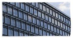 Bath Towel featuring the photograph Windows In Copenhagen by Victoria Harrington
