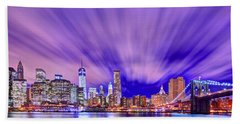 Winds Of Lights Bath Towel