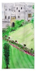 Windsor Castle Hand Towel