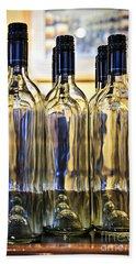 Wine Bottles Bath Towel