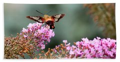 Wings In The Flowers Hand Towel by Kerri Farley