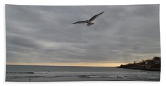 Bath Towel featuring the photograph Wings by Robert Nickologianis