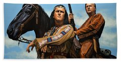 Winnetou And Old Shatterhand Bath Towel
