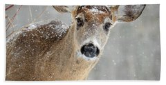 Winter Buck Bath Towel