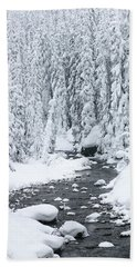 Winter Creek Bath Towel
