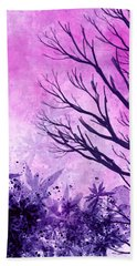 Winter Dreams  Hand Towel by Persephone Artworks